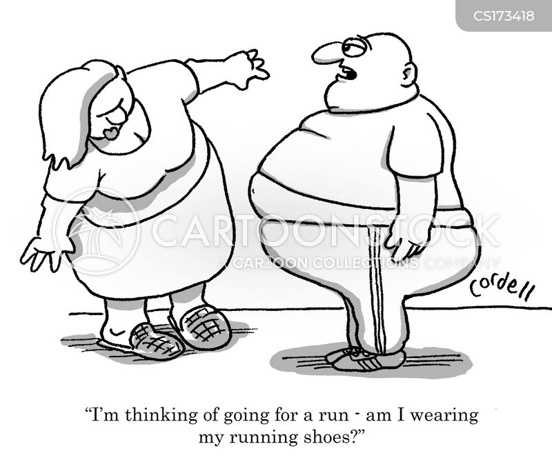 Running Shoes Cartoons and Comics - funny pictures from