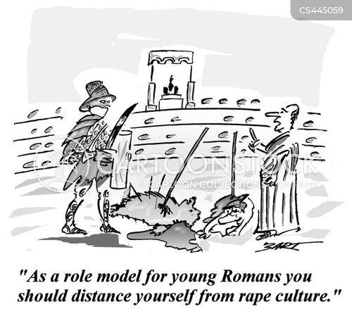 Ancient rome rape comics