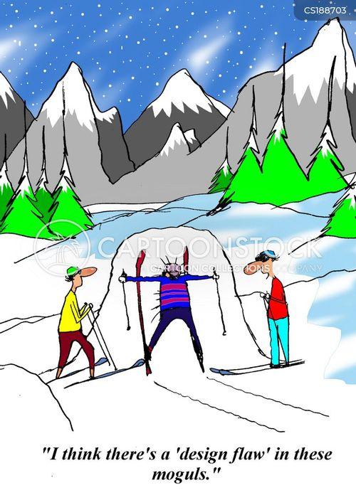 mogul skier quotes