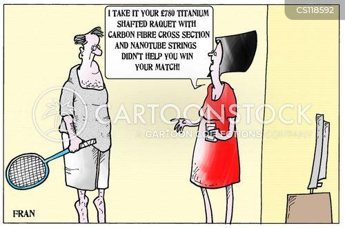 Raquet Cartoons and Comics - funny pictures from CartoonStock