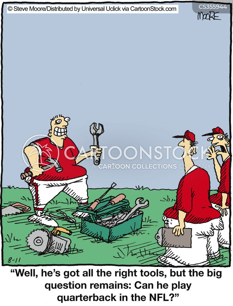 Quarterback Cartoons and Comics - funny pictures from