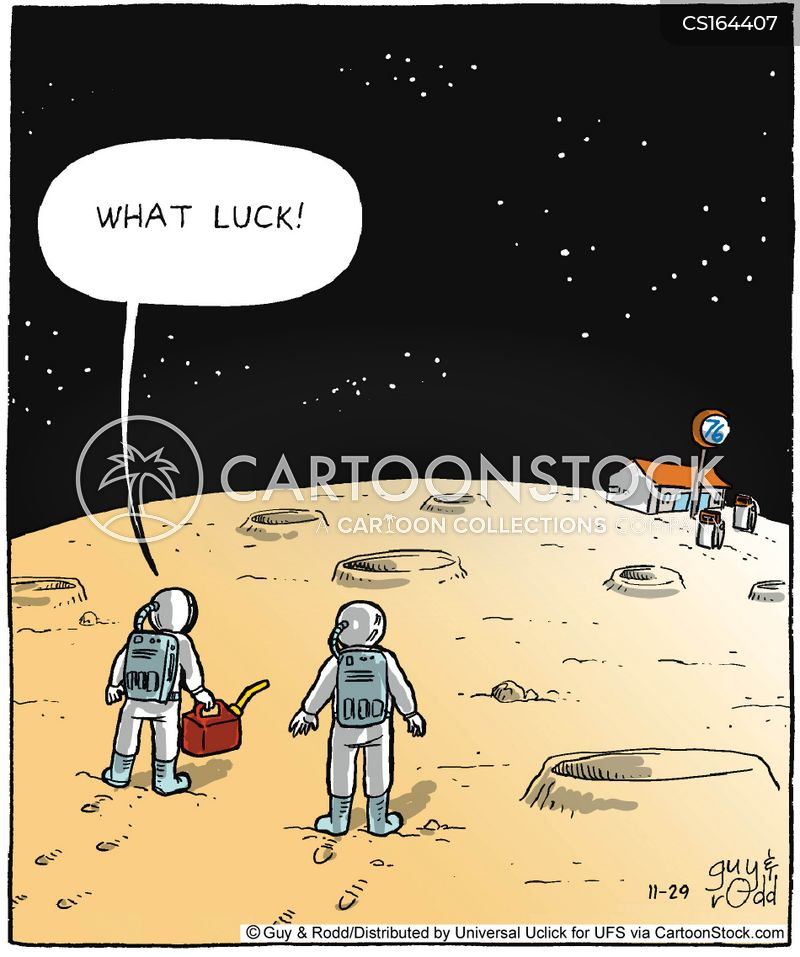 Space Cartoons and Comics - funny pictures from CartoonStock