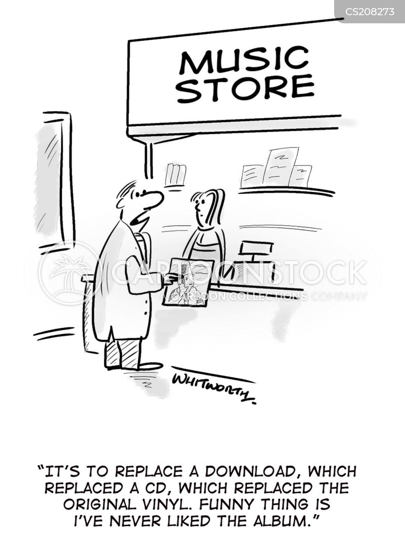 Music Shop Cartoons And Comics Funny Pictures From