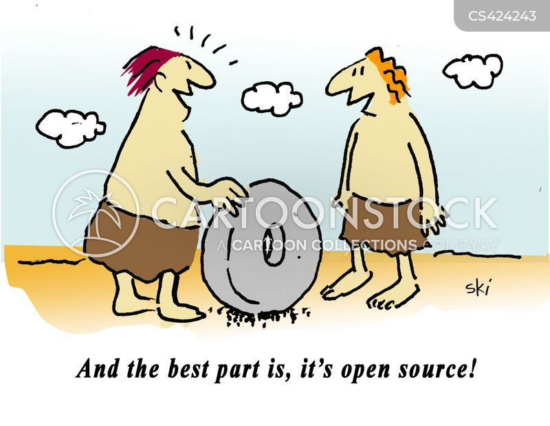 Open source technology cartoons and comics funny pictures from cartoonstock Open source illustrator