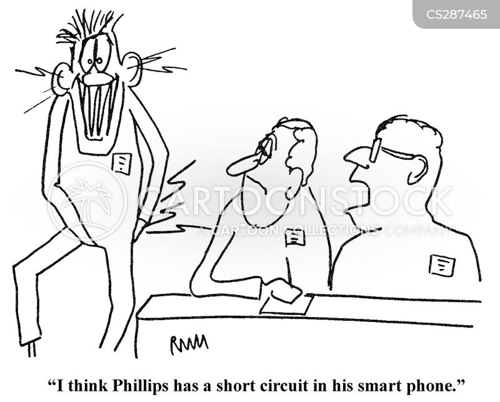 short circuits cartoons and comics