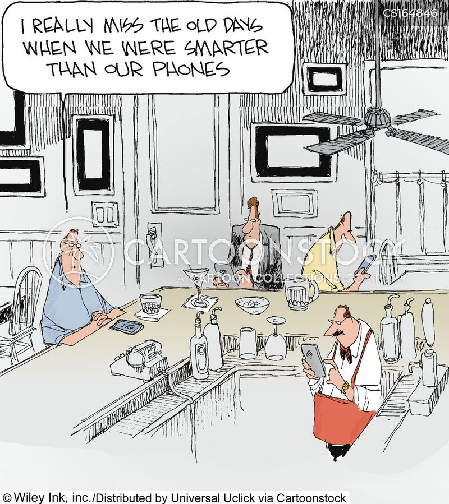 Artificial Intelligence Cartoons And Comics Funny