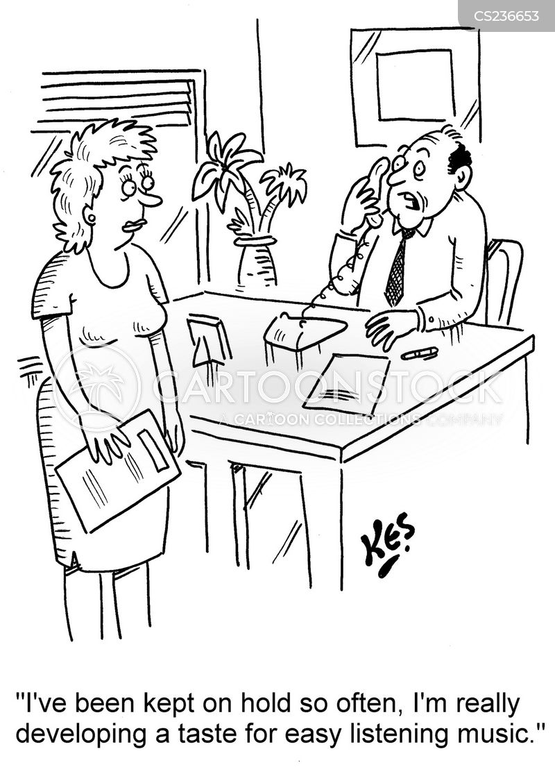 automated telephone systems cartoons and comics