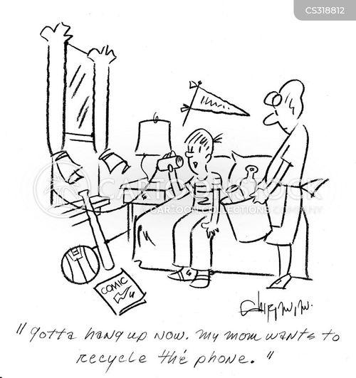 walkie talkie cartoons and comics