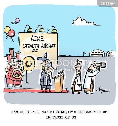Military Aircraft Cartoons and Comics