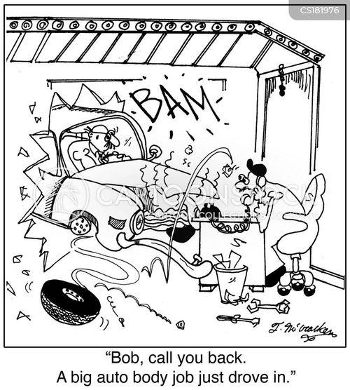 Auto Parts Cartoons Auto Mechanics Cartoon 7 of 51