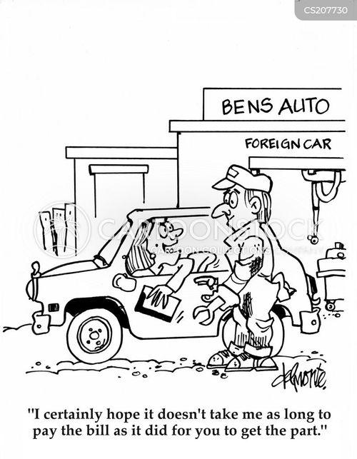 Auto Parts Cartoons Auto Parts Cartoon 5 of 9