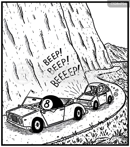 Funny Cartoons Eight Ball