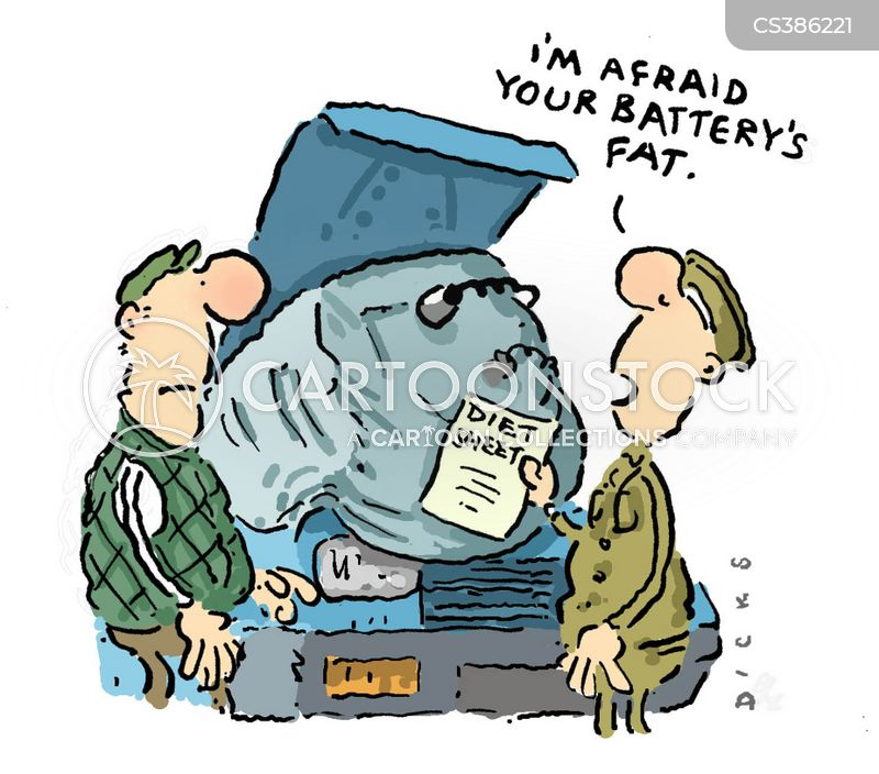 Flat battery cartoons and comics funny pictures from cartoonstock