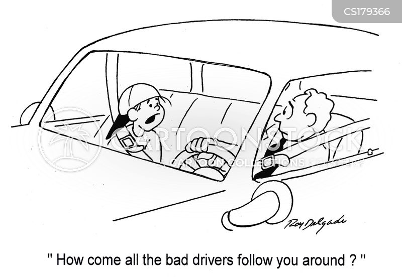 Bad Driver Cartoon 10 of 138