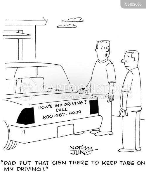 Driver's Ed Cartoons And Comics