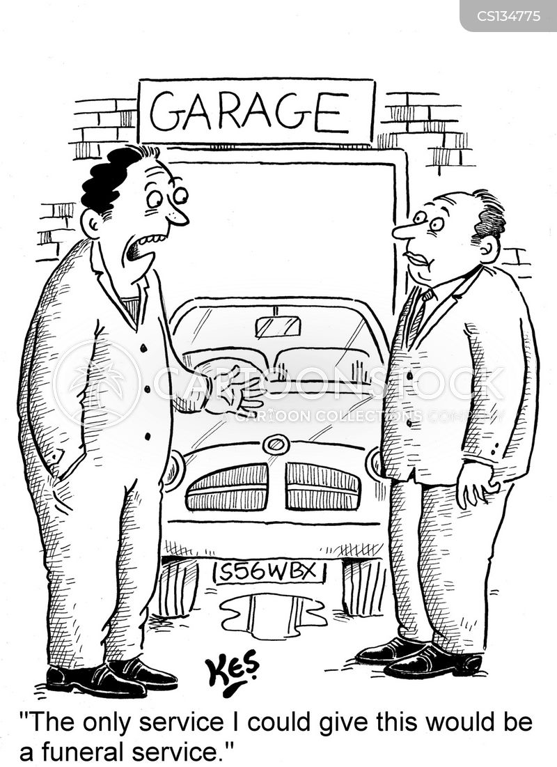 Car Maintenance Cartoons And Comics Funny Pictures From