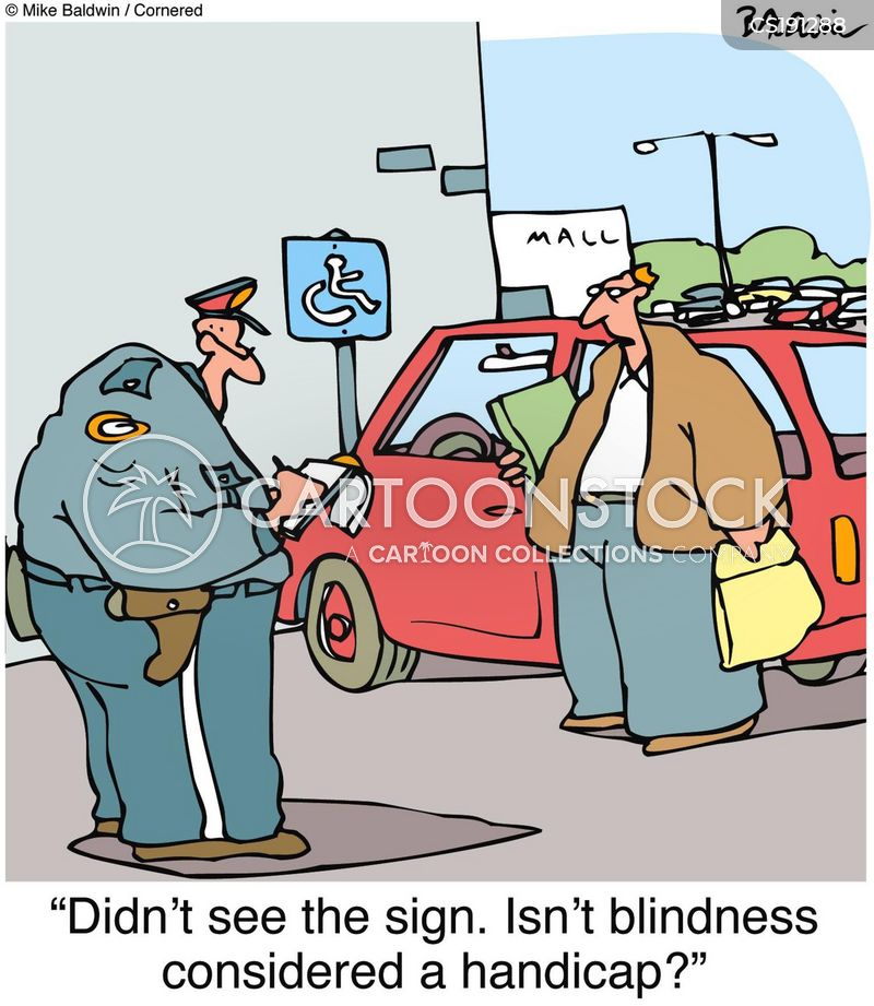Handicap Cartoons And Comics Funny Pictures From