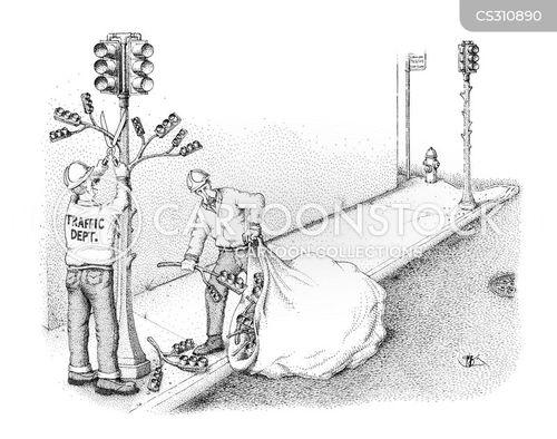 Funny Maintenance Cartoon Road Maintenance Cartoon 6 of