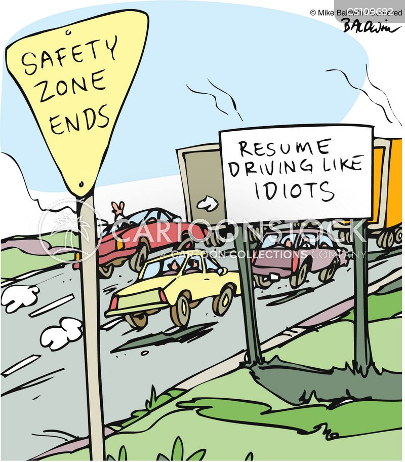 Careless Driving Cartoons And Comics Funny Pictures From