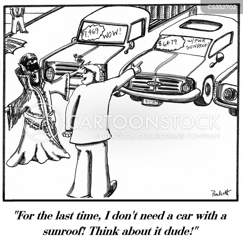 Sun roof cartoons and comics funny pictures from cartoonstock - Second hand mobile homes freedom in motion ...