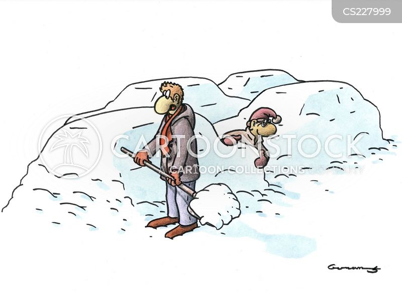 Snowmobiles Cartoons And Comics Funny Pictures From