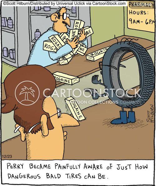 tire cartoons  comics funny pictures  cartoonstock