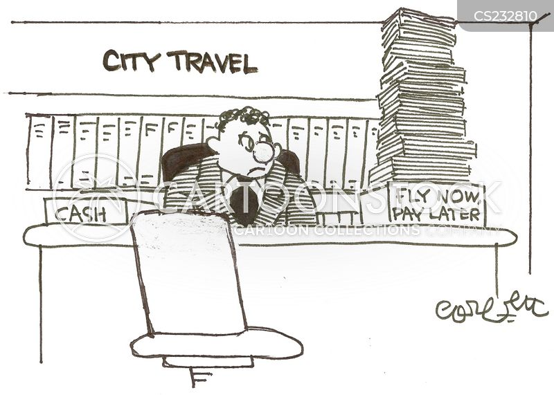 Buy now pay later cartoons and comics funny pictures for Travel now pay later vacations