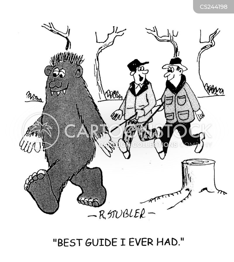 Bigfoot Cartoon, Bigfoot Cartoons, Bigfoot Bild, Bigfoot Bilder, Bigfoot Karikatur, Bigfoot Karikaturen, Bigfoot Illustration, Bigfoot Illustrationen, Bigfoot Witzzeichnung, Bigfoot Witzzeichnungen