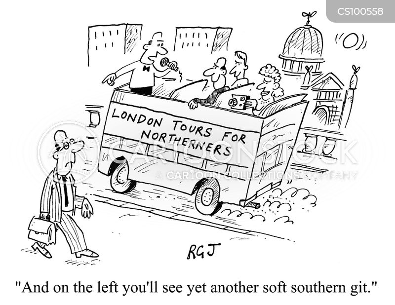 London Bus Cartoons And Comics Funny Pictures From