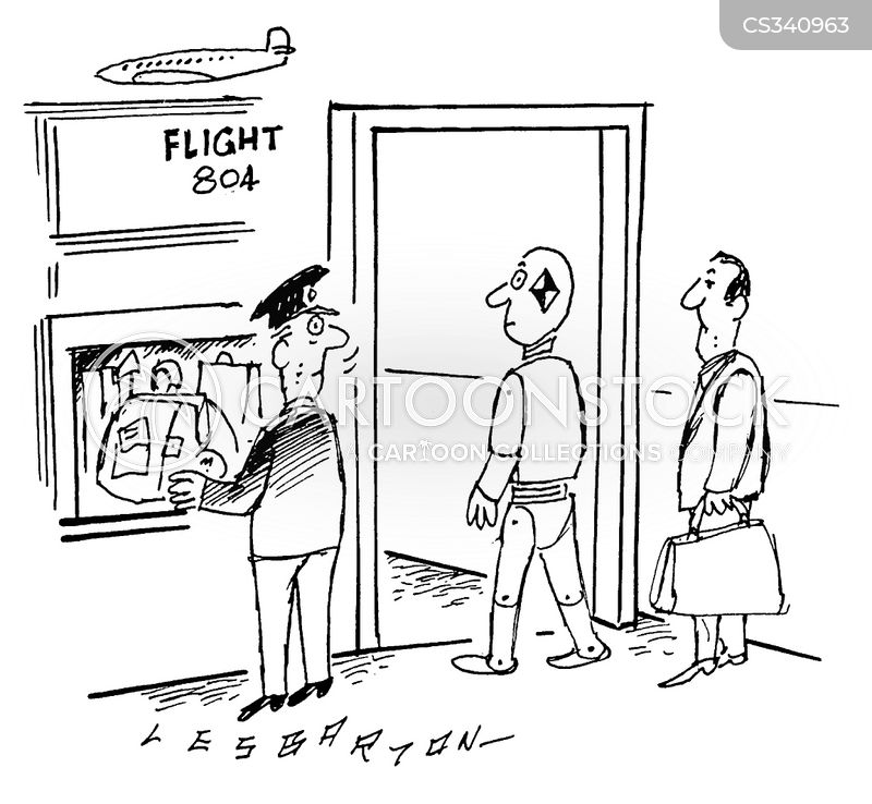 Schedule Flight Cartoons and Comics - funny pictures from ...