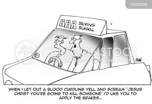 Learner Drivers Cartoon 1