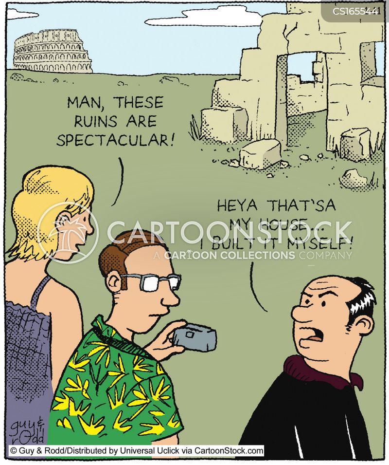 Italian Tourist: Funny Pictures From CartoonStock