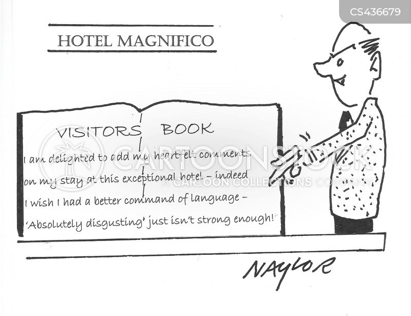 Bad Reviews Cartoons and Comics - funny pictures from ... Funny Bad Hotel Reviews