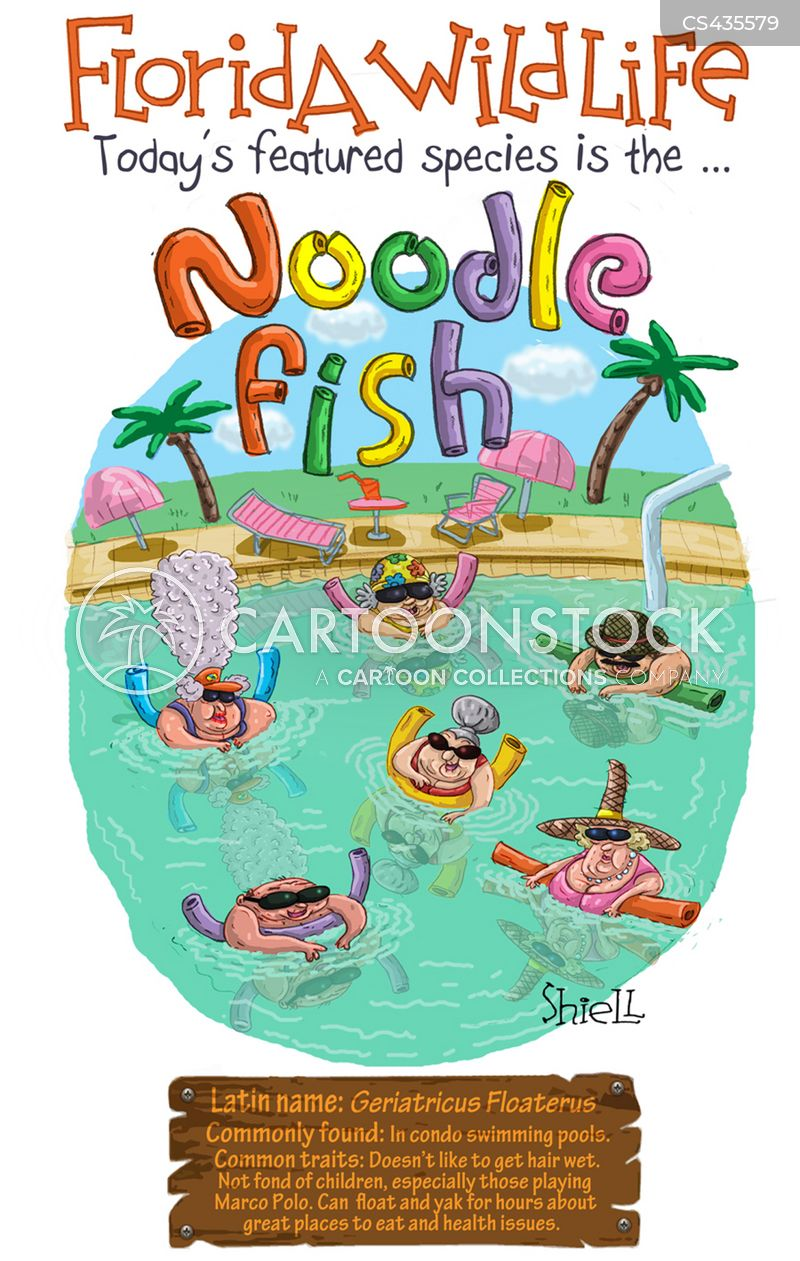 Retirement community cartoons and comics funny pictures for Florida fishing license for seniors