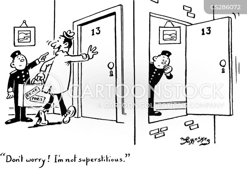 Unlucky Number Cartoons And Comics Funny Pictures From