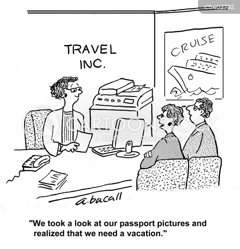Passport Cartoons And Comics Funny Pictures From Cartoonstock