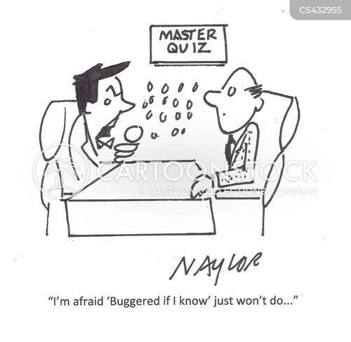 Funny Correct Answer Cartoon