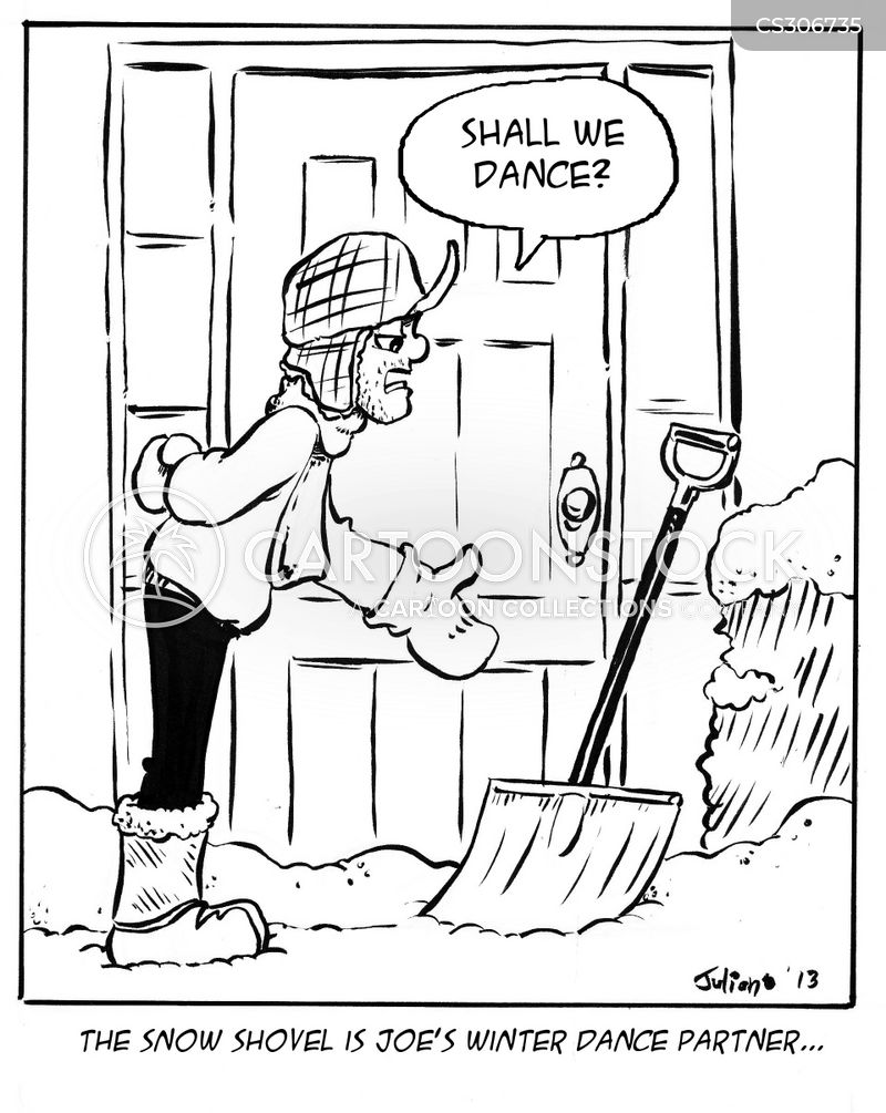 Snow Shovels Cartoons And Comics Funny Pictures From