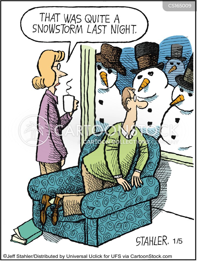 Snow Cartoons And Comics Funny Pictures From Cartoonstock