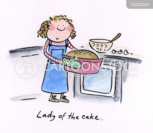 Funny Cartoon Cake Images : Baking Cake Cartoon,,Baking Cake(?3?)_????