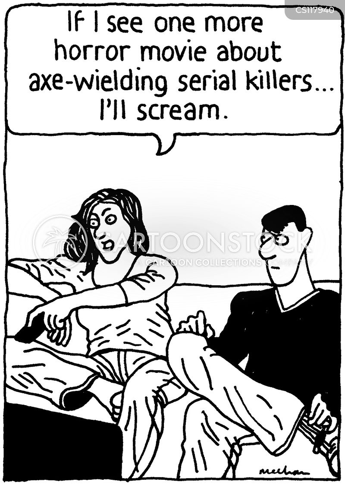 horror cartoons: