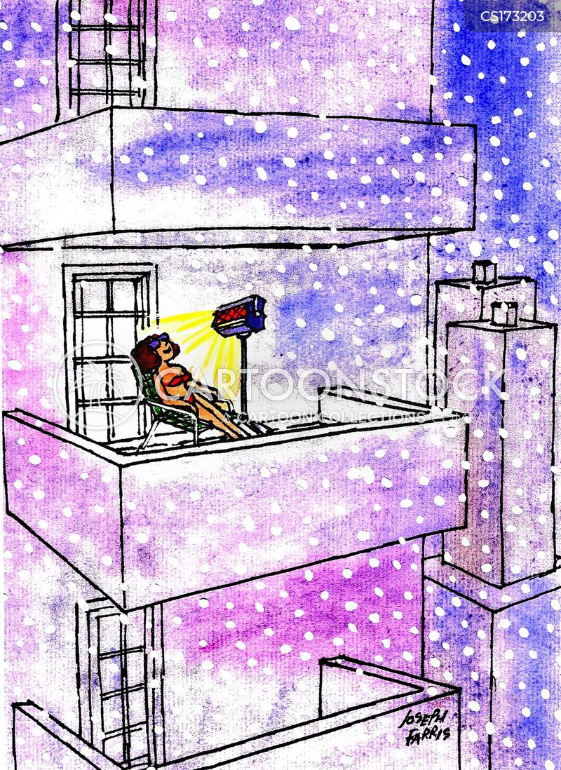 Balcony cartoons and comics funny pictures from cartoonstock for Balcony cartoon