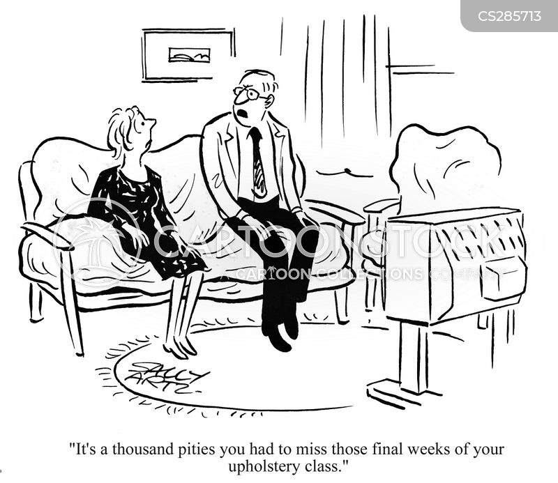 Upholstery cartoons and comics funny pictures from for Funny sofa pictures